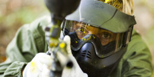 Seguridad en el campo de Paintball